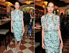 Michelle Monaghan In J. Mendel – Lynn Hirschberg Celebrates W's It Girls