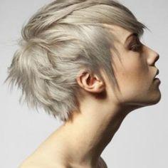 Ash Blonde Feminine Pixie Cut | StyleNoted