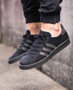 more photos 8009f d4416 adidas Primeknit construction has covered a slew of different styles this  year, and the Campus are no different. Available in both a simple black and  white ...