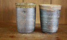 Hey, I found this really awesome Etsy listing at http://www.etsy.com/listing/158993664/rustic-wheel-thrown-salt-fired-tumblers
