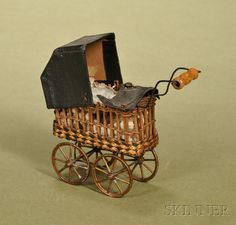 Miniature Doll's Carriage | Sale Number 2476, Lot Number 220 | Skinner Auctioneers