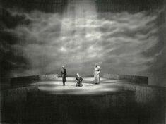 """"""" Das Rheingold """" 4.Bild 1953 Wieland Wagner  Bühnenphoto"""