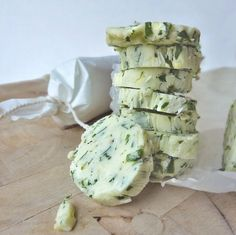 Use parsley and chives to make this lemon herb butter.