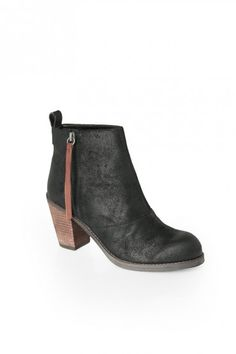 Joust Boot in Black Suede DV by DolceVita