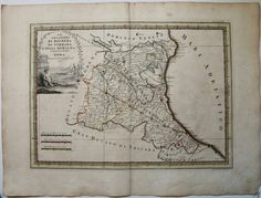 Le Legazioni di Bologna di Ferrara e della Romagna, G.M. Cassini,  1791