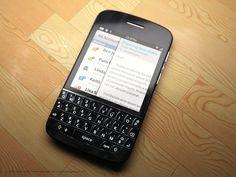BlackBerry N10.