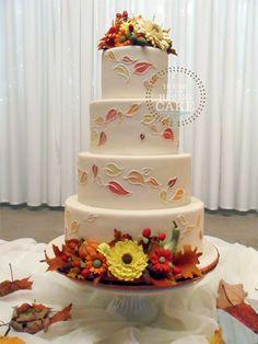 Autumn-wedding-cake