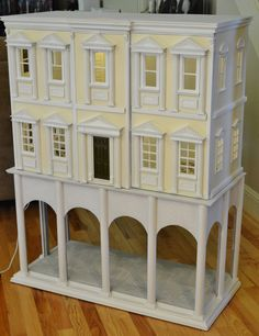 1:12 Scale Cabinet Style Dollhouse | by Ken Haseltine Regent Miniatures