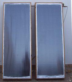 9 propuestas de calentadores solares caseros.