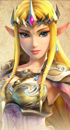 Zelda in Hyrule Warriors!