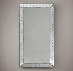 18Th C. Venetian Glass Beveled Mirrors