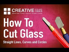 How to Cut Glass - The Basics | Delphi Glass - YouTube