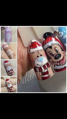 nail art designs 2019 nail designs for short nails easy essie nail stickers best nail stickers full nail stickers Nails Polish, Nails & Co, Get Nails, Fancy Nails, Trendy Nails, Christmas Nail Designs, Christmas Nail Art, Xmas Nails, Holiday Nails