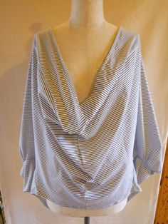 #9 loose drape blouse
