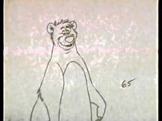 Mowgli & Baloo - by Ollie Johnston, Frank Thomas and Milt Kahl