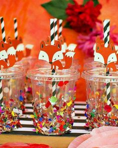 """Playful & Glamorous """"Stay Wild"""" FOXY Flower Party // Hostess with the Mostess® Christmas Decorations To Make, Christmas Diy, Fox Party, Fox Decor, 9th Birthday Parties, Baby Boy Birthday, Woodland Party, First Birthdays, Stay Wild"""