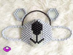 Koala Mask and Ears Kandi Set Koala Kandi Mask Kandi by PlanetPLUR
