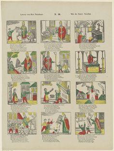 Leven van Sint Nicolaas / Vie de Saint Nicolas, Franciscus Antonius Beersmans, Anonymous, 1866 - 1902