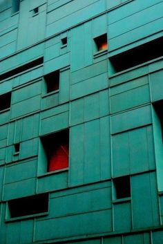 GREEN #green #wall #rigid #window #grid #square