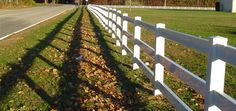 Low Carbon Vinyl Fencing