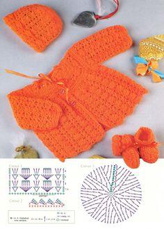 Bebê crochê casaco de lã, Padrões Croche | Fazer artesanal, crochê, artesanato