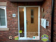 Irish Oak Flint 4 with Side Panel Solidor Timber Composite Door Door Images, Composite Door, Home Hacks, Contemporary, Modern, Irish, Composition, Free Credit, Doors