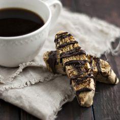 Salted Caramel Chocolate Biscotti