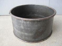 Old Galvanized Dry Measure