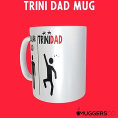 Funny Dad Mug Regular Dad TriniDad Trinidadian Fathers day gift Trini Gift from Daughter Gift from kids Gift from wife Dad birthday Caribbean Trinidad Great Gifts For Men, Gifts For Kids, Funny Dad, Dad Mug, Dad Humor, Dad Birthday, Ceramic Mugs, High Definition, Fathers Day Gifts