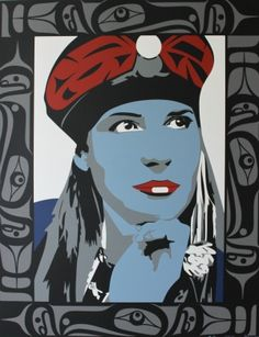 Title: Witness Dated: 2011 - Signed Artist: Dick, Francis Edition: of 85 Community: Vancouver Island (Kwakwaka'wakw) Size: inches/cm x cm x cm Style: Silkscreen Berlin, Aboriginal Painting, Inuit Art, Contemporary Sculpture, Native Art, First Nations, Limited Edition Prints, Community Art, Sculpture Art
