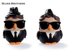 La coppia di gufi Goof Brothers di Egan è una rappresentazione in chiave simpatica di Elwood e Jake, noti anche come The Blues Brothers, famosi per la loro comicità e il loro classico completo nero con cappello e occhiali scuri. Prezzo: €  39,60. Visita il nostro sito  www.righouse.it per scoprire altri incredibili prodotti nel nostro shop on-line.