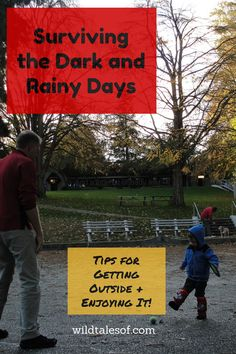 It doesn't always seem like the logical choice, but these days we are working hardnot to let the rain and lack of daylight stop us from our usual afternoon walks and adventures. After all, the bo...
