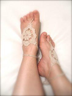 crochet sandals without soles