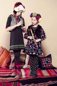 Kenzo Kids, AW 11/12  we heart it! @dimitybourke.com #kidsfashion #childrenswear