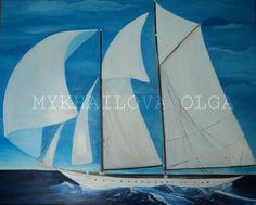 Impressionism Oil on canvas Mykhailova Olga 2013 Sold Sailboat, Impressionism, Sailing Ships, Oil On Canvas, Art Gallery, About Me Blog, Sailing Boat, Art Museum, Fine Art Gallery