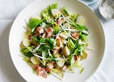 Pickled quail egg, smoked trout and celeriac salad recipe - 9Kitchen