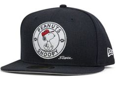 Snoopy Cap Badge 59Fifty Fitted Cap by NEW ERA x MLB