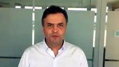 """Faca um favor ao #Brasil. Mostre este vídeo ao eleitor do #Aécio Neves. """"Chega de tanta corrupção"""" - Vídeo Dailymotion"""