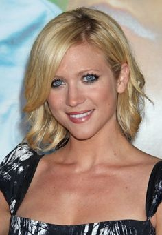 Brittany Snow's blonde, wavy hairstyle  love her hair...