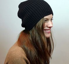 A unisex hat that fits beautifully. Perfect for gift-giving! Now available as a free pattern on Canadian Living.
