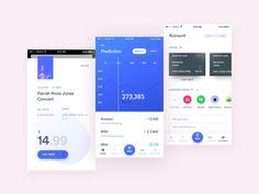 A Simple Banking App by Bilal #Design Popular #Dribbble #shots