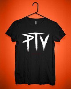Pierce The Veil PTV Logo Custom T shirts,Band Merchandise,Tees,Clothing,Short sleeve (Made in USA)