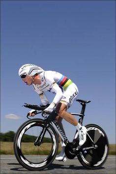 Tony Martin (Omega Pharma-Quickstep) on his way to the win in the Dauphine TT