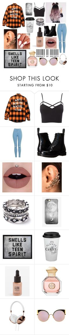 """""""My favorite after-school activity is going home"""" by alexisjayde16 ❤ liked on Polyvore featuring Charlotte Russe, Topshop, Dr. Martens, WithChic, Rianna Phillips, Hatcher & Ethan, Tory Burch, Frends, Fendi and AlexisTaglist"""
