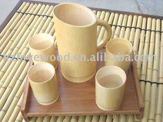 China Bamboo Tea Cup Set - Bamboo tea cups - Natural ba is supplied by ★ Bamboo Tea Cup Set - Bamboo tea cups - Natural ba manufacturers, producers, suppliers on Global Sources Bamboo Cups, Bamboo Box, Buy Bamboo, Bamboo House, Bamboo Ideas, Bamboo Fence, Bamboo Furniture, Furniture Market, Street Furniture