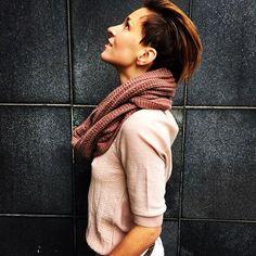 #aymara #knitwear #babyalpaca #hazel #scarf 69,60€ On Sale in our web-shop https://www.goodshaus.com/AYMARA-Loop-Schal-Mala