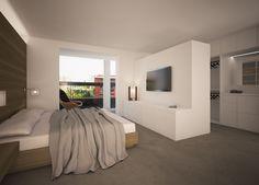 Hotel Ibiza, Barcelona, 3d, Furniture, Home Decor, Minimalist, Yurts, Blue Prints, Decoration Home