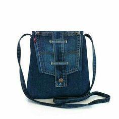 Idee voor jeanshandtas