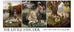 The Little Stitcher Blog - for a rainy day