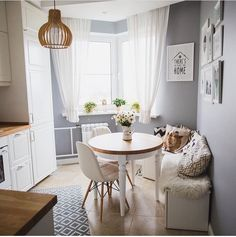 Scandinavian Dining Room Design: Ideas & Inspiration - Di Home Design Interior Design Living Room, Living Room Decor, Bedroom Decor, Küchen Design, House Design, Design Ideas, Color Combinations Home, Smart Home Design, Trendy Home